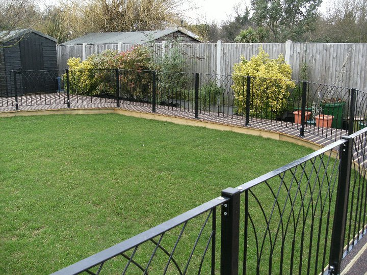 Decking fencing and sectional building manufacturers for Garden decking rope fittings