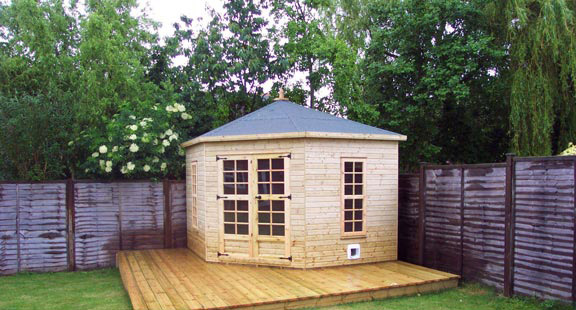 Summer Houses Fencing And Sectional Building Manufacturers