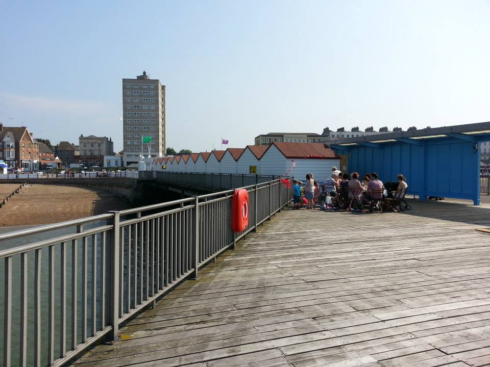 Herne Bay Pier Huts Fencing And Sectional Building