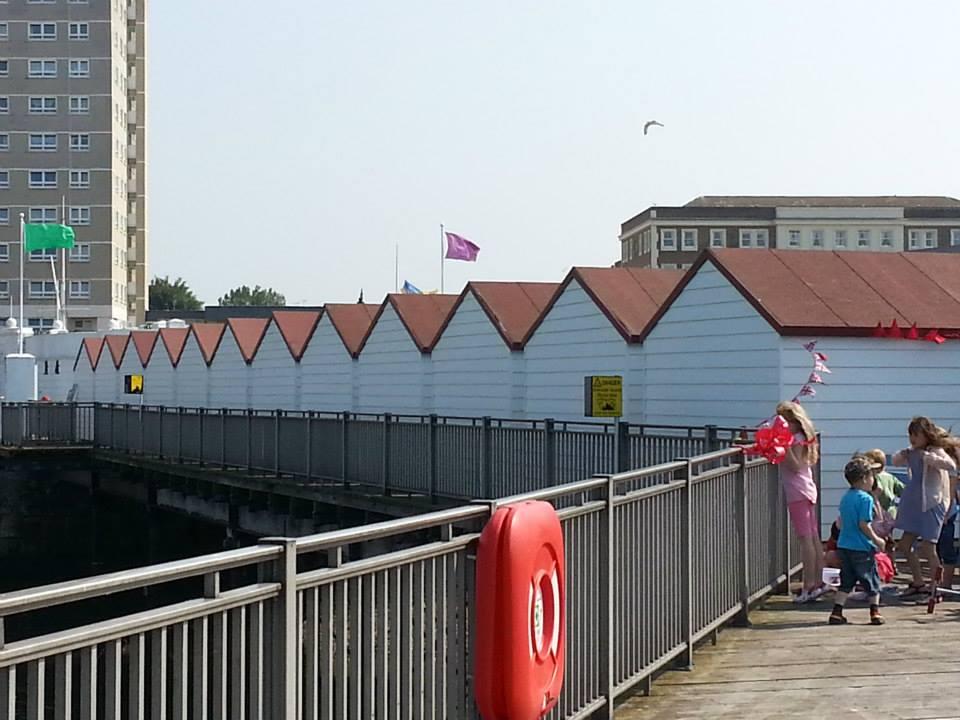 Herne Bay Pier Huts