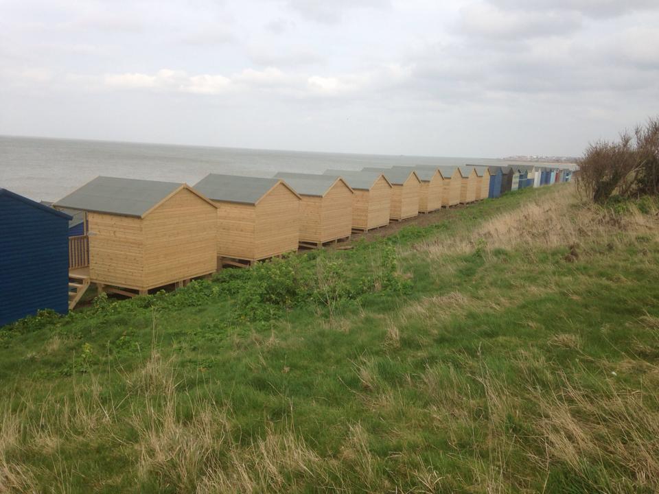 Beach hut herne bay