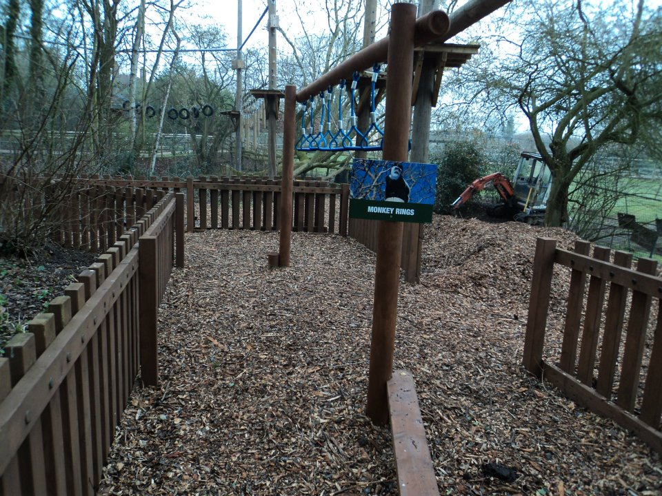 Howletts Amp Port Lympne Zoos Fencing And Sectional