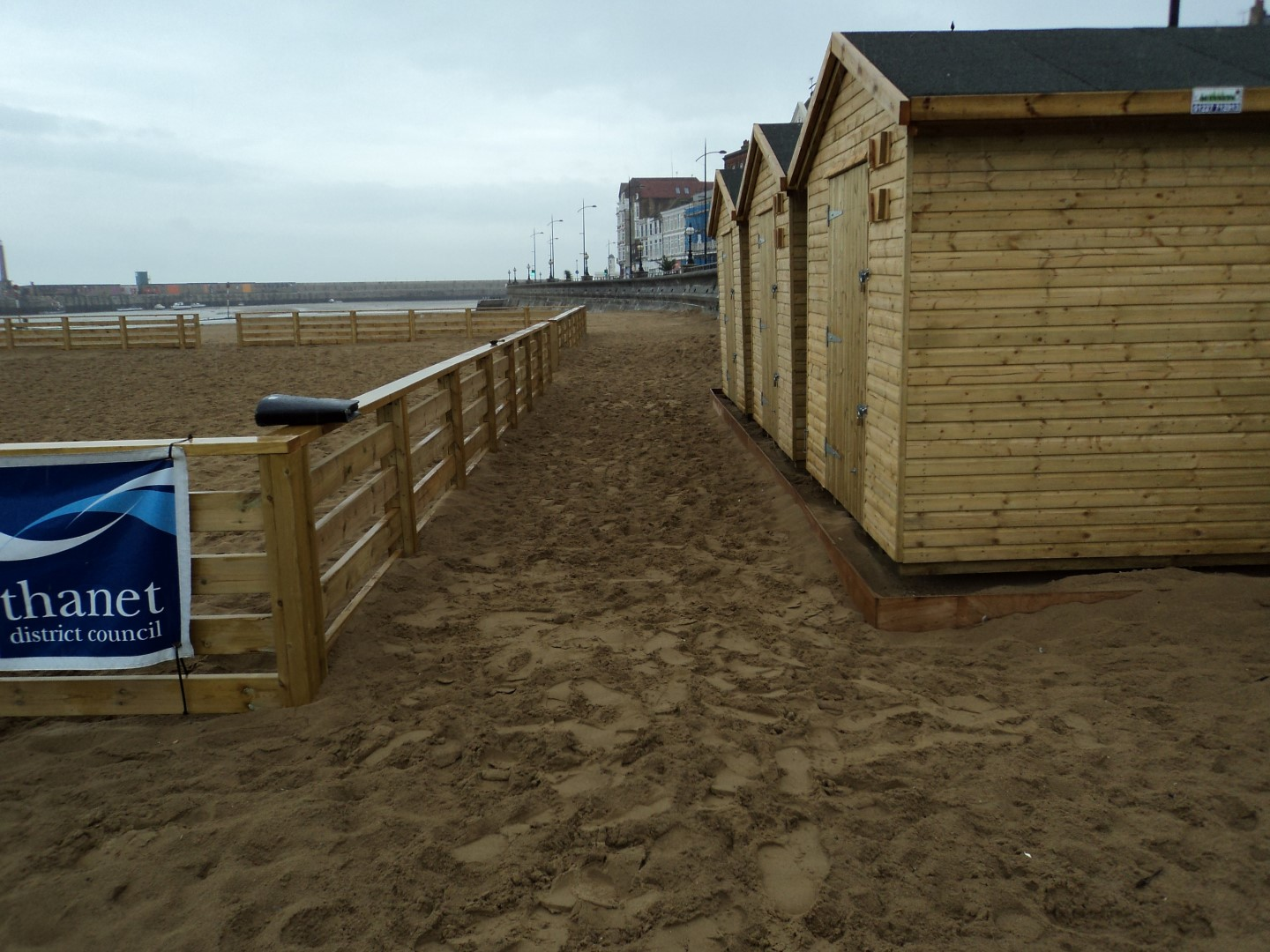 Thanet council volley ball court and changing rooms