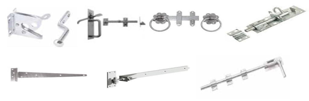 Bolts, Latches & Catches