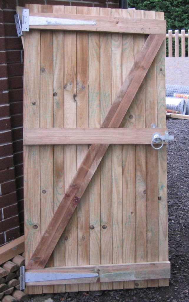 Ledged and Braced Gates