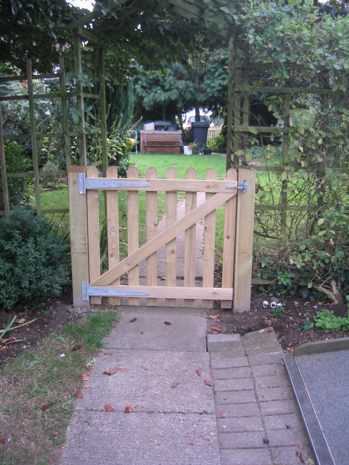 Ledged Amp Braced Gates Fencing And Sectional Building