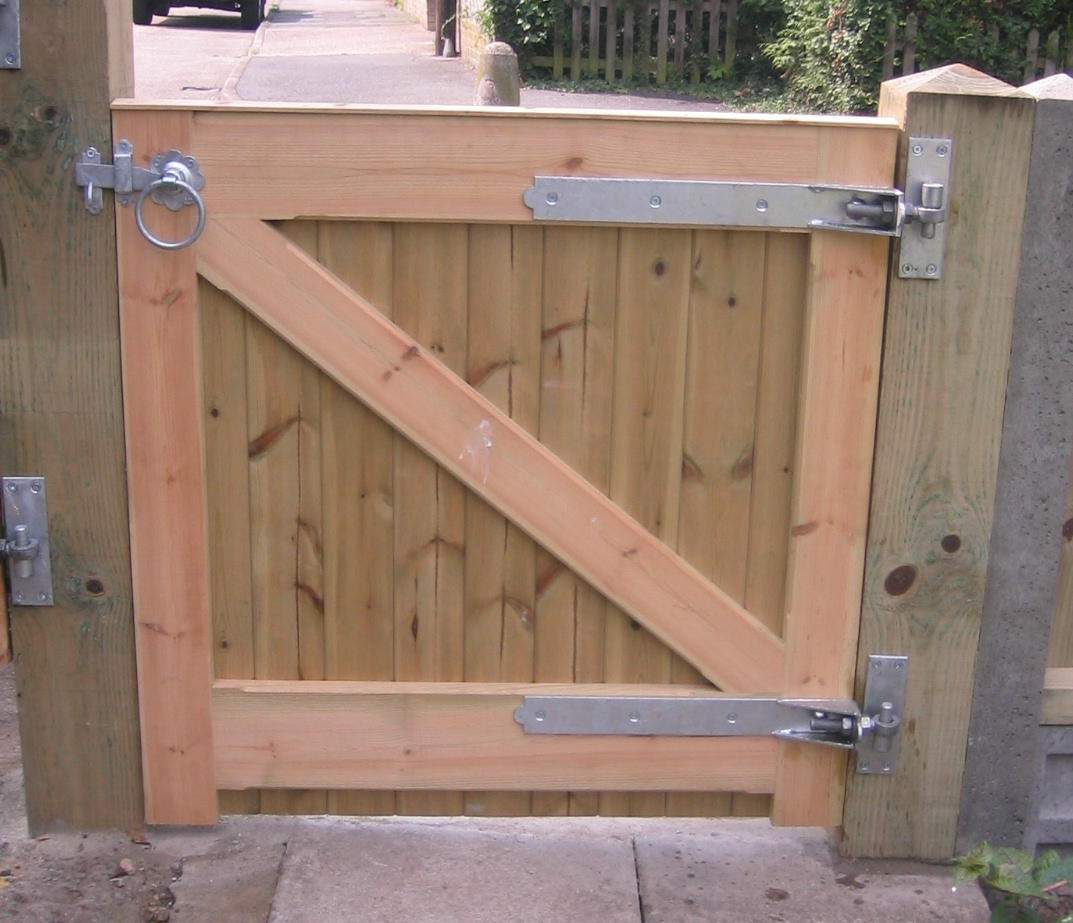 Framed ledged braced gates fencing and sectional