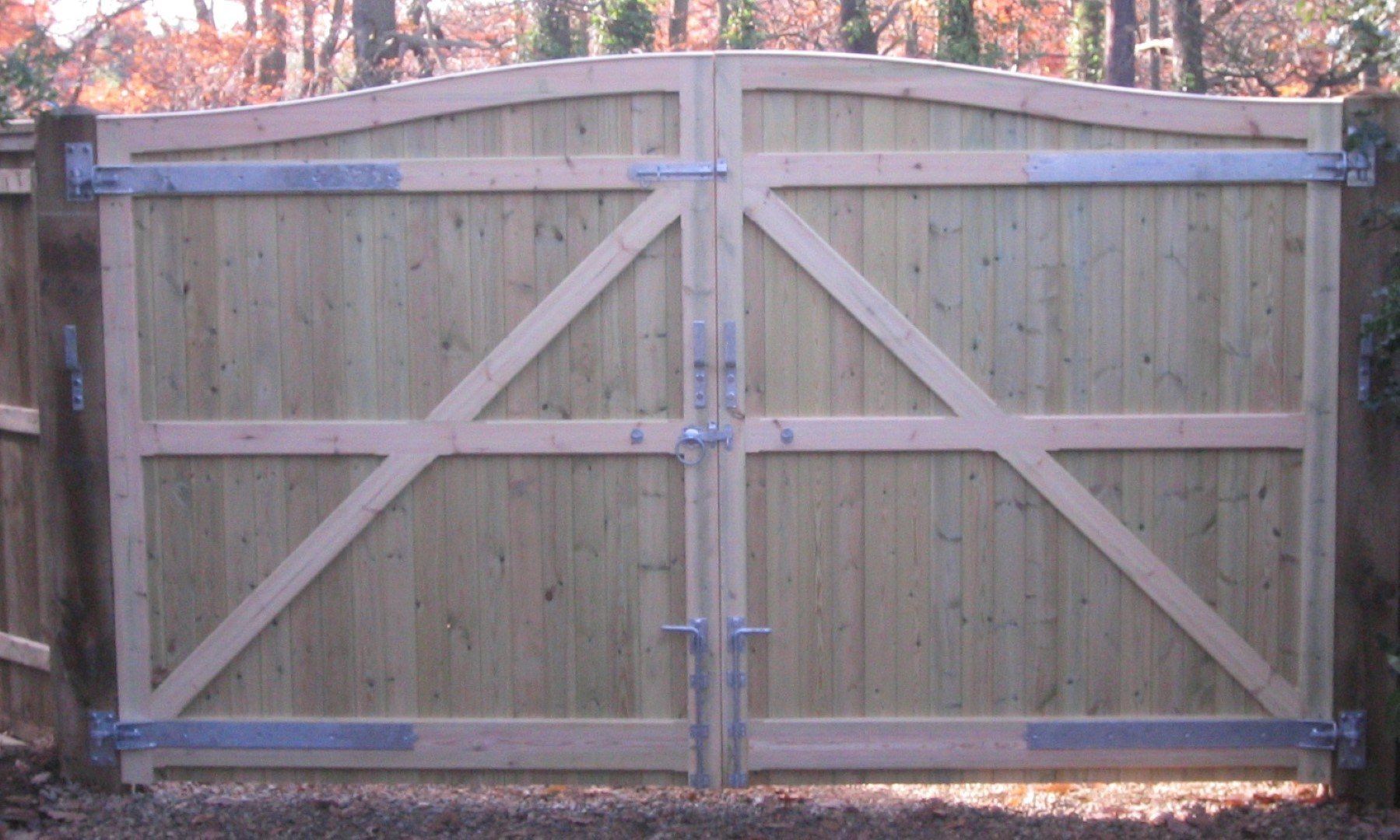 Framed, Ledged and Braced Gates