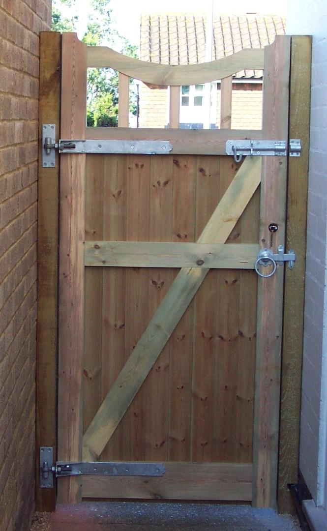 Framed, Ledged and Braced Gates
