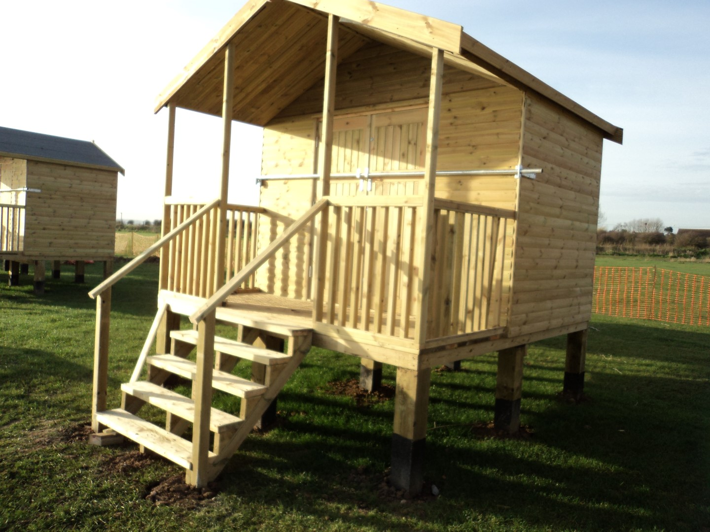 Swale Council Beach Huts Leysdown Fencing And